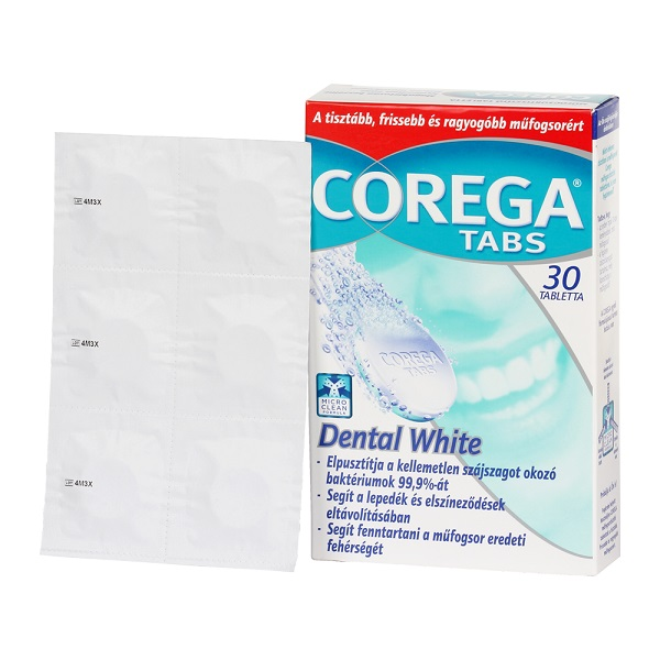 Corega Tabs Dental Weiss tabletta